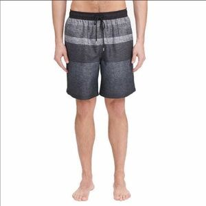 Kirkland Men's Swim Trunks Striped XXL